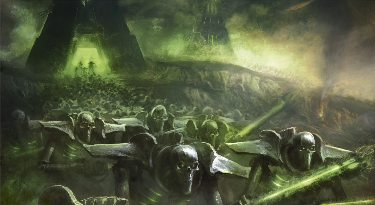 Warhammer 40000 Necrons artwork