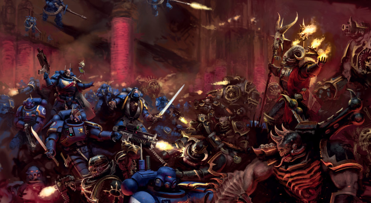Chaos Space Marines GalleryArt 4